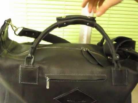 30 янв 2013. Небольшая кожаная дорожная сумка hadley redwood, можно использовать для фитнеса и для недолгих командировок.