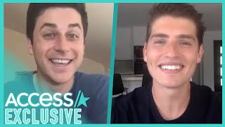"Reunited and it feels so good! david henrie gregg sulkin exclusively chatted with access hollywood about their upcoming flick, ""this is the year."" st..."