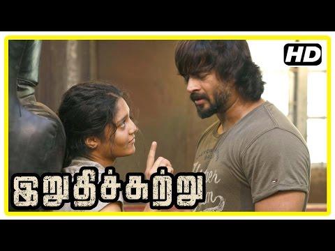 Irudhi Suttru Tamil Movie | Boxing Scenes...