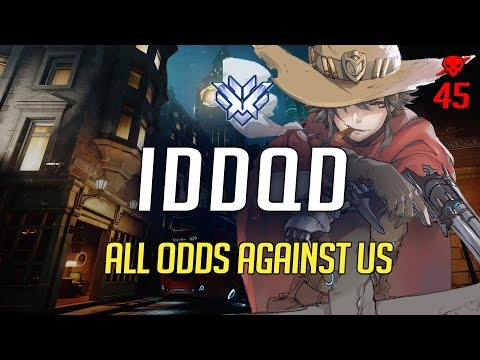 SF iddqd - All odds against us [45 kills on Kings Row]