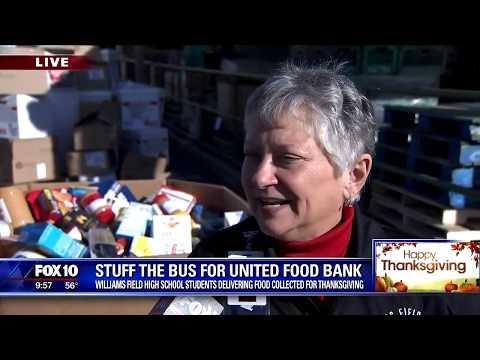 Williams Field High School Black Hawks donated 32,000 meals