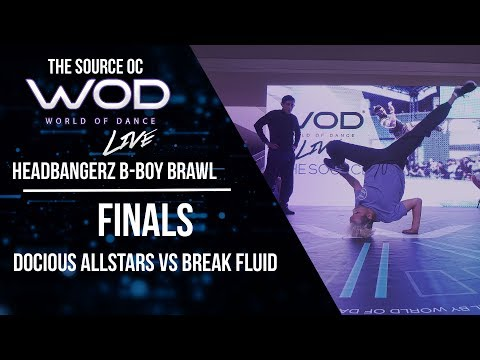 Docious All Stars vs Break Fluid | Headbangerz BBoy Brawl | Finals | #WODLIVEOC17