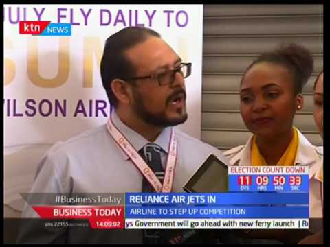 Reliance Air introduces daily flights to Kisumu