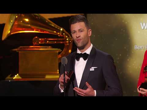 Ben Fielding & Brooke Ligertwood Win Contemporary Christian Music Perf / Song    60th GRAMMYs