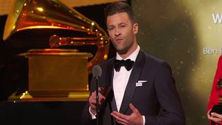 Ben Fielding & Brooke Ligertwood Win Contemporary Christian Music Perf / Song  | 60th GRAMMYs