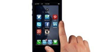 iOS 7 Apple iPhone 5S Concept Video