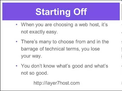 Web Hosting: How To Choose The Right Company