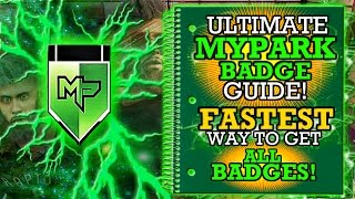 NBA 2K17 ULTIMATE MYPARK BADGE GUIDE!! FASTEST WAY TO GET ALL MYPARK BADGES!!