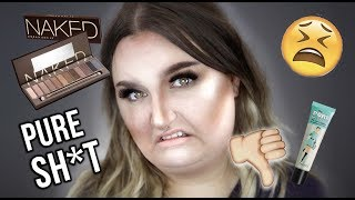 FULL FACE USING PRODUCTS I HATE | RAWBEAUTYKRISTI