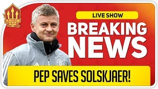 Solskjaer Job Saved by Man City Champions League Ban? Man Utd News Now