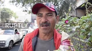 Mexico: Barbers and beggars - migrants try to secure money to resume journey to US border