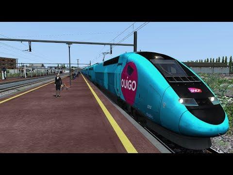 Train Simulator 2017 LGV A - Paris Montparnasse/St-pierre des corps TGV OuiGo