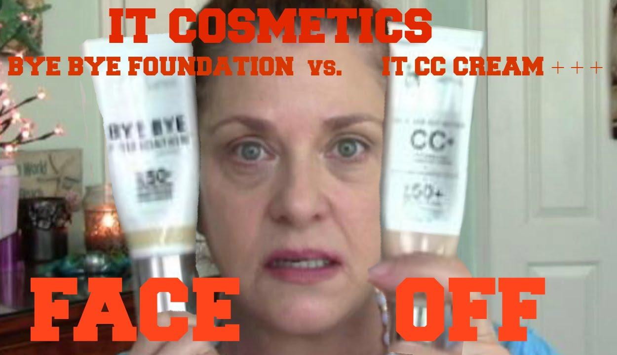 It Cosmetics Bye Bye Foundation Vs It Cosmetics Cc Cream
