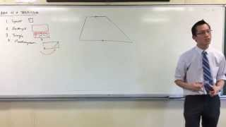 Area of a Trapezium (1 of 2: From a Rectangle)