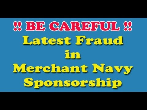 Sponsorship frauds in Merchant Navy. GME, DNS, ETO, Marine Engineering Course.