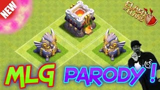 And his name is... - MLG Parody - NEW 2015 Clash of Clans Update Parody