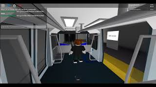 riding on the automatic tomas rail in roblox