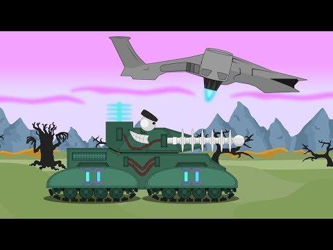 Нашествие зомби и неожиданное спасение - Мультики про танки