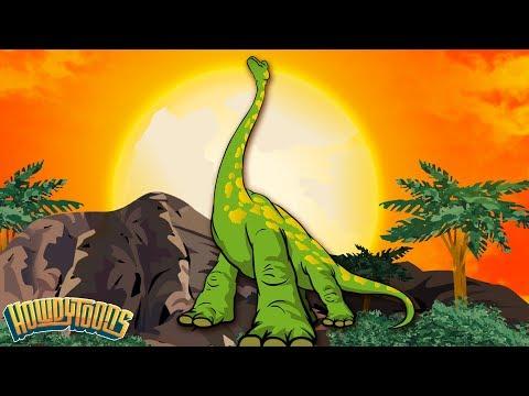 Dinosaur Songs - Plant Eaters! | Brachiosaurus, Diplodocus and Brontosaurus