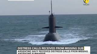 Distress call received from missing submarine