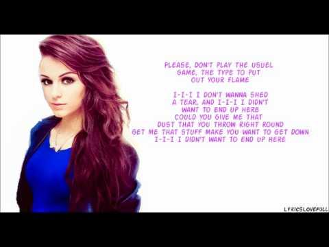 Cher Lloyd – None Of My Business Lyrics   Genius Lyrics