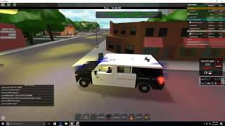 ROBLOX Life in LA #6 {Code 99 In Progress! Officer down!}