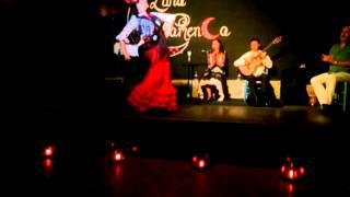 Raquel de Luna por alegrías en sala Luna Flamenca