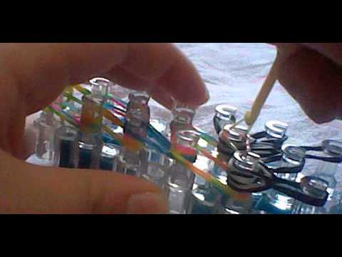 How To Make Foxy The Pirate(Five Nights At Freddy's) Rainbow Loom. Part 5