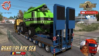 Euro Truck Simulator 2 (1.36)   Ownable overweight trailer Doll Panther v1.4.2 by Jazzycat Road to Romania Long Delivery Over 300km DLC Road to the Black Sea by SCS Software Mercedes Actros MP2 + DLC's & Mods https://ets2.lt/en/ownable-overweight-trailer-
