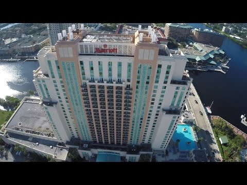 Tampa Marriott Waterside Aerial