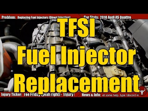 TFSI VW Audi Injector Replacement