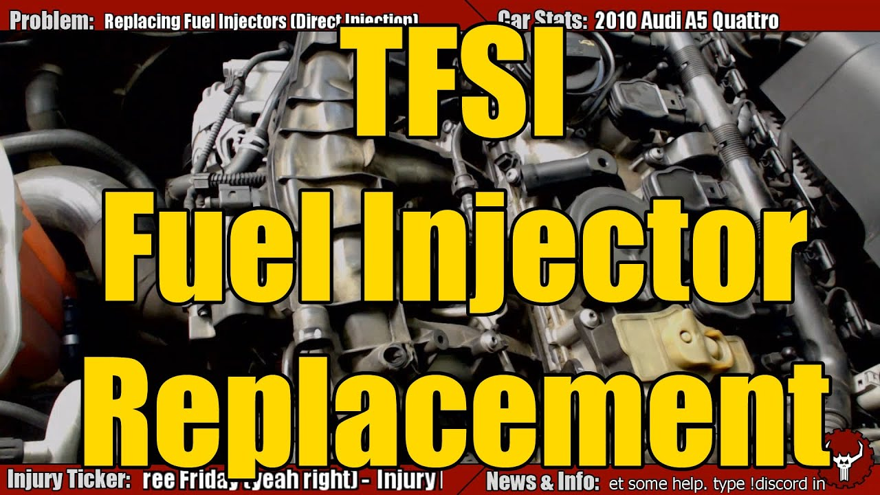 TFSI VW Audi Injector Replacement YouTube