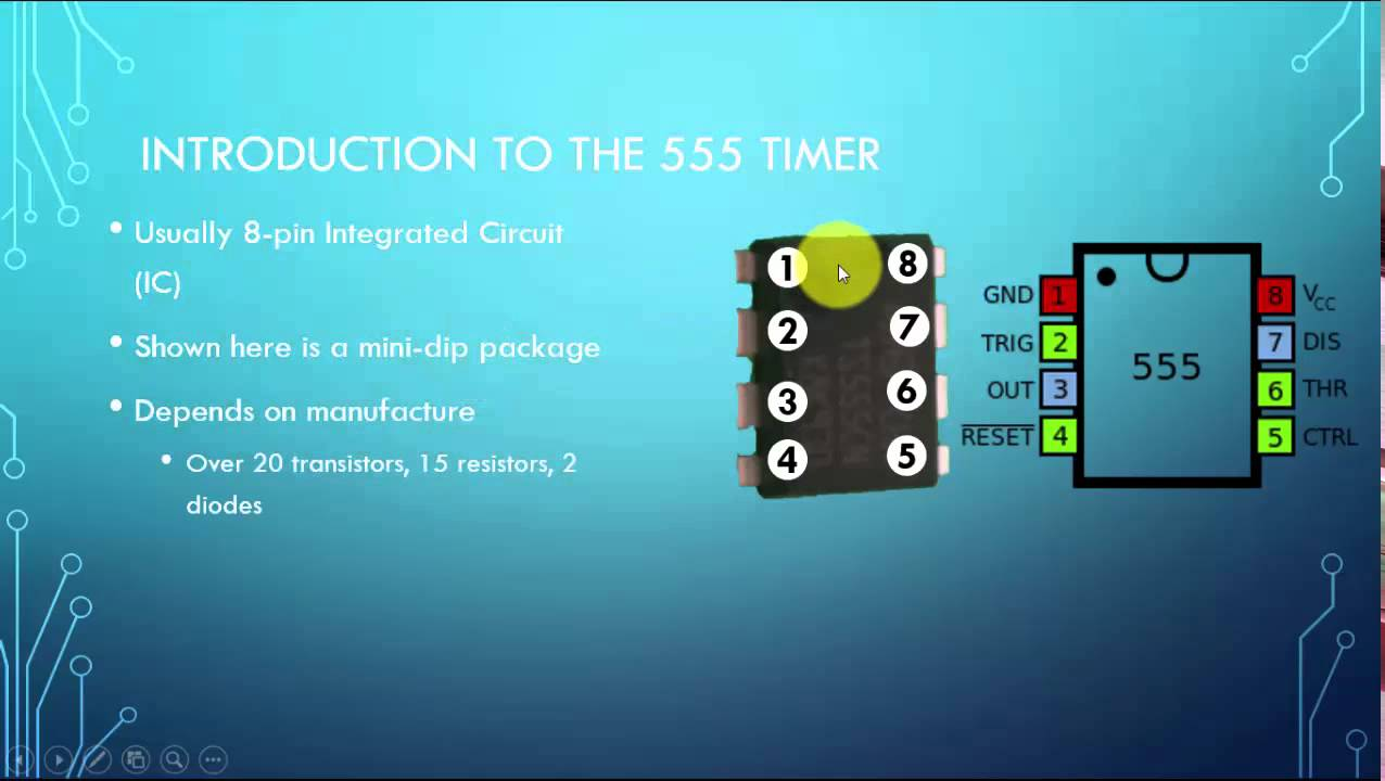 A Very Brief Introduction to the 555 Timer (Part 1) - YouTube