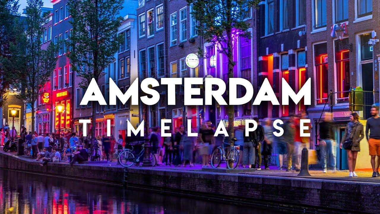 30.000 RAW PHOTOS | AMSTERDAM 4K Timelapse (Sony A7III + Moza AirCross Gimbal)