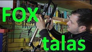 FOX F32 RL talas - обзор и замена сальников для Scott Genius