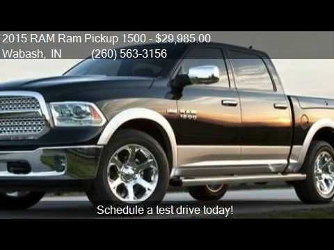 2015 ram ram pickup 1500 for sale in wabash in 46992 at wa youtube. Cars Review. Best American Auto & Cars Review