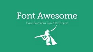 Красивые иконки на сайт - Font Awesome