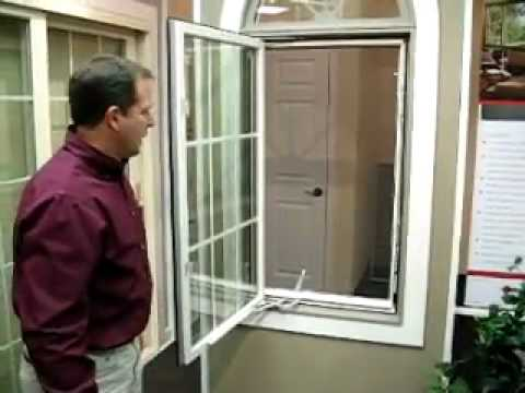 Marvin windows integrity products glenbrook u youtube for Marvin window screens