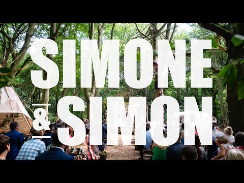 Woodland Weddings  - Simone and Simon's wedding at Lila's Wood inTring