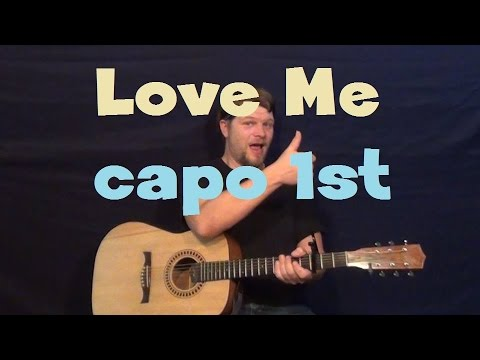 Love Me Katy Perry Easy Guitar Lesson Strum Chord How To Play