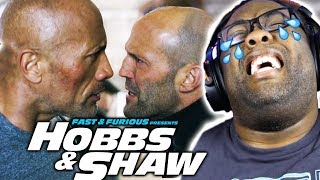 HOBBS & SHAW BROKE ME! - Trailer 2 Reaction & Thoughts