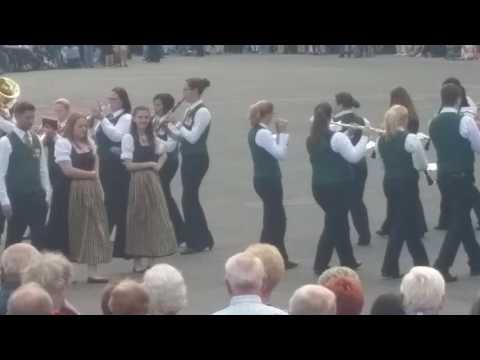 Dorfmusik Zillingtal Showprogramm 37. Öbv fest am rathausplatz in wien
