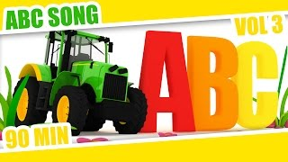 ABC Song | Old MacDonald Had a Farm | Learn the Alphabet | Babies Kids Children - Compilation 03