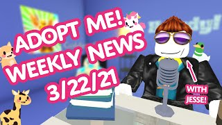 THE LATEST NEWS! 🤯 IAMSANNA DISCOVERS A SECRET! 😱 Weekly News 3/22👁‍🗨 Adopt Me! on Roblox