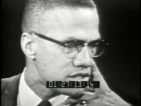 Malcolm X interviewed in 1963