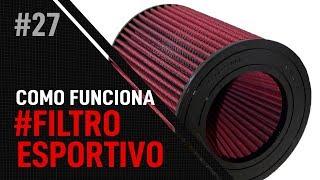 FILTRO DE AR ESPORTIVO: COMO FUNCIONA? - FT. RS Air Filter