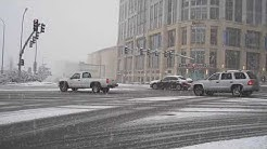 Seattle Snow NE 8th Street & 112th Ave NE Bellevue, Washington 01-15-12