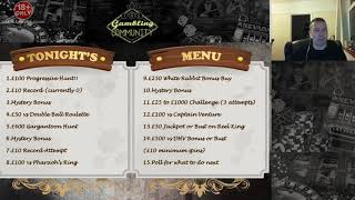 Tonights Gambling Menu!!!