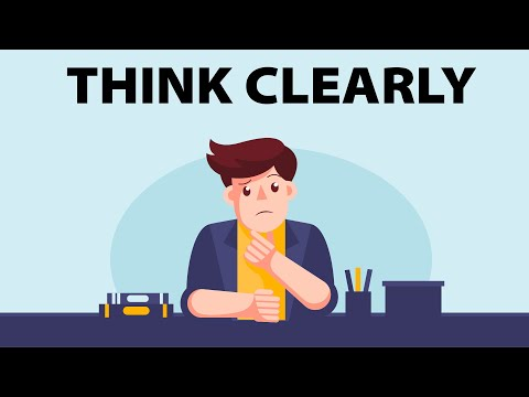 How to Think Clearly and Logically   A Simple Solution