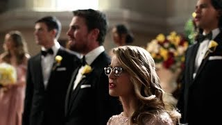 Supergirl | Crisis on Earth-X | Intruders From Earth-X Crash Barry & Iris's Wedding | The CW
